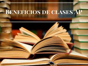 Beneficios de clases AP
