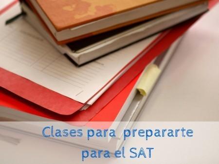 Clases para prepararte para el SAT