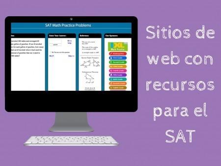Sitios de web con recursos para el SAT