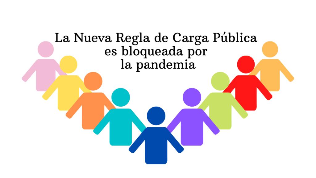 La Nueva Regla de Carga Pública es bloqueada por la pandemia